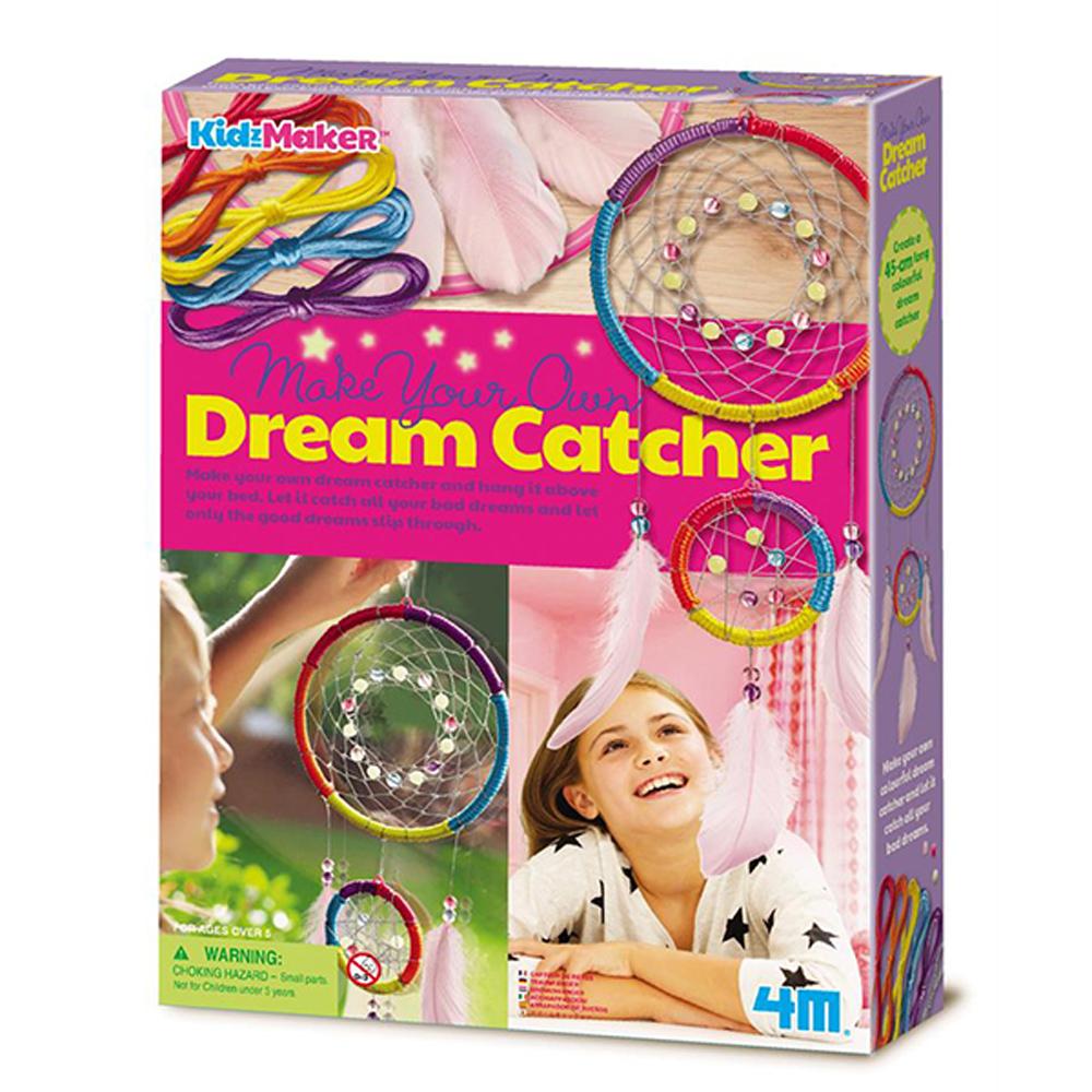 【4M】美勞創作系列-編織捕夢網 Dream Catcher 00-04732