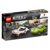 【LEGO樂高】賽車系列 75888 保時捷 Porsche 911 RSR and 911 Turbo 3.0