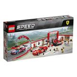 【LEGO樂高】賽車系列 75889 法拉利終極車庫 Ferrari Ultimate Garage