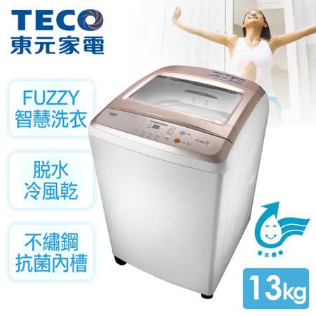 東元 13kg 超音波定頻洗衣機