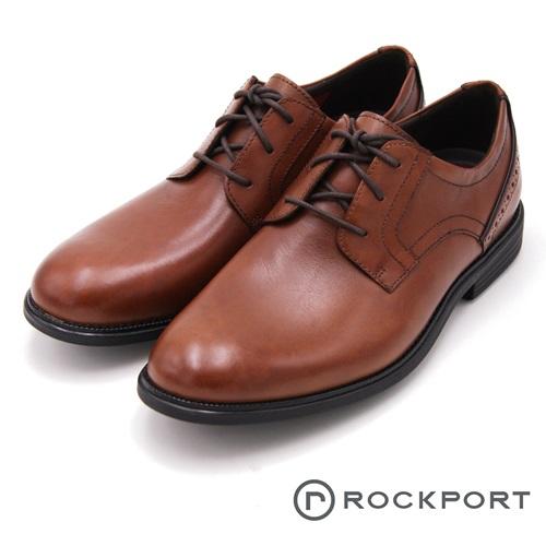 Rockport 都會雅仕系列 後雕工藝減震輕量休閒 男鞋-咖啡(另有黑)