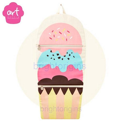 ART Muffin Kids Multi Storage 掛壁式收納袋(冰淇淋)