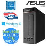 ASUS 華碩 K20CE-0051A306UMT (J3060/4G/1TB/DVD-RW/W10) 桌上型電腦