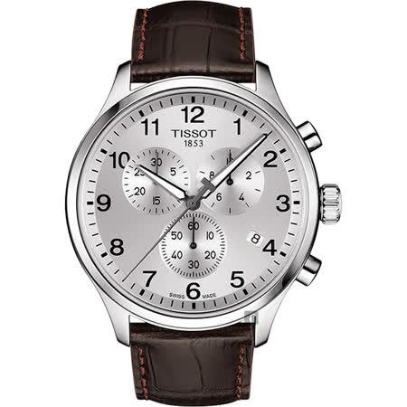 TISSOT天梭 韻馳系列計時手錶
