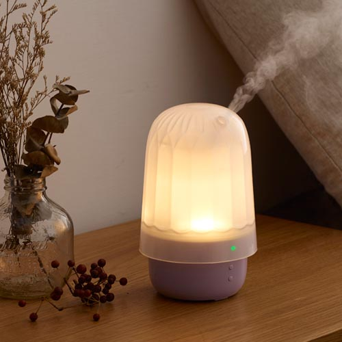 蕾莉歐 香氛水氧機(星鑽機-紫)