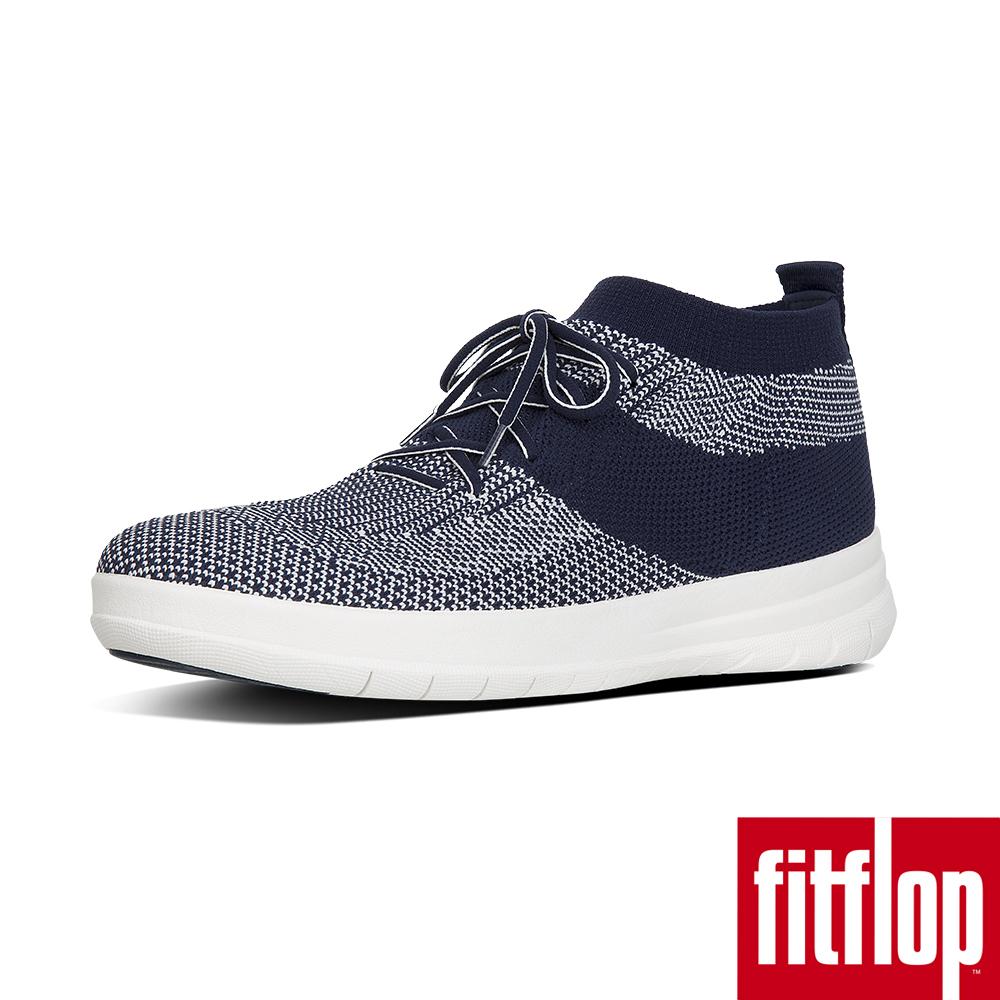 FitFlop TM-UBERKNIT TM SLIP-ON HIGH TOP SNEAKERS   午夜藍/都會白