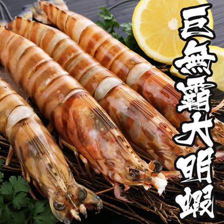 深海巨無霸 超大明蝦32尾