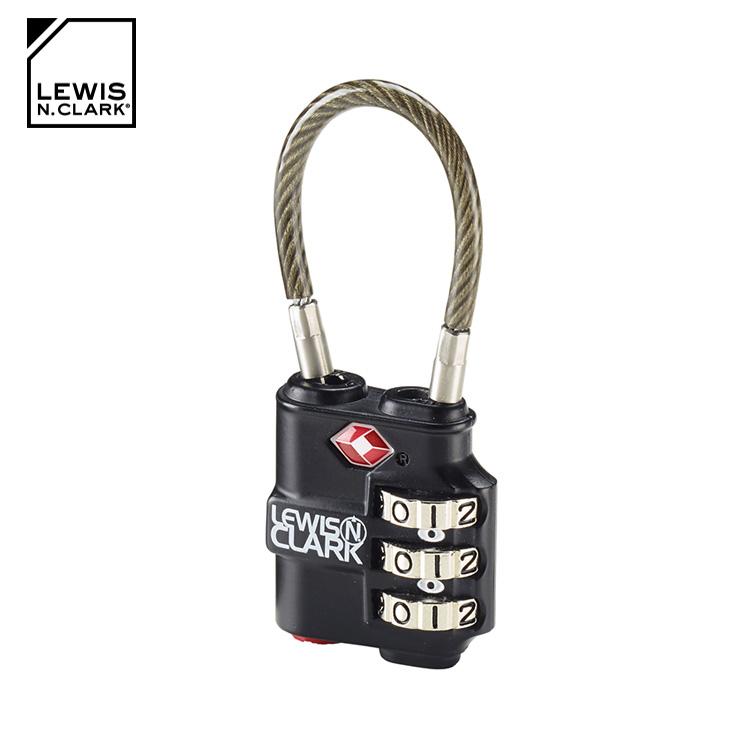 Lewis N. Clark TSA海關安全指示強化密碼鎖 TSA100  城市綠洲  海關鎖、旅行箱、旅遊 、美國品牌