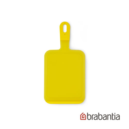 【荷蘭Brabantia】檸檬黃防滑砧板-小