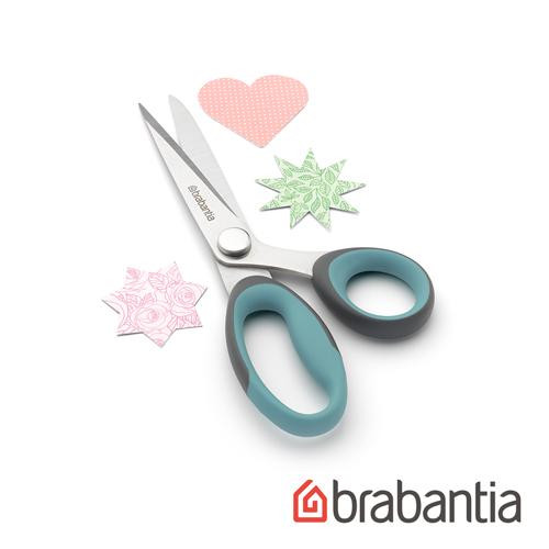【荷蘭Brabantia】多功能廚房剪刀-薄荷藍
