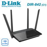 D-Link 友訊 DIR-842-C AC1200 MU-MIMO WIFI分享 Gigabit雙頻無線路由器 分享器