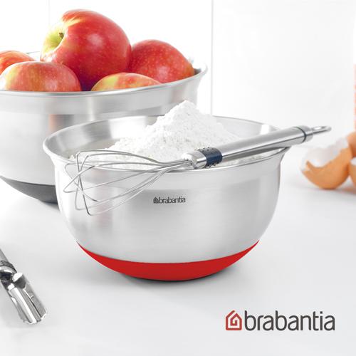 【荷蘭Brabantia】不鏽鋼調理缽1.6L - 紅