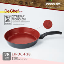 韓國NEOFLAM De Chef系列 28cm陶瓷不沾平底鍋(電磁) (EK-DC-F28)