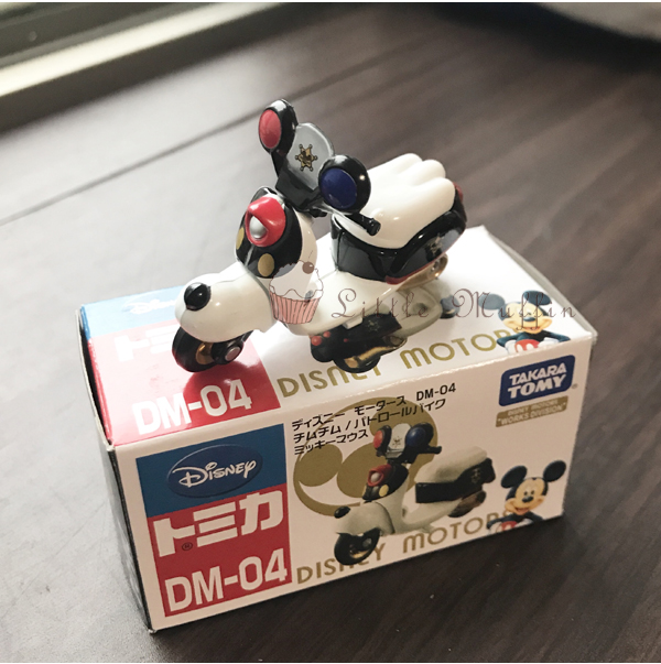 TOMICA 多美小汽車 迪士尼 摩托車系列 DISNEY 迪士尼 夢幻米奇警車 日本進口