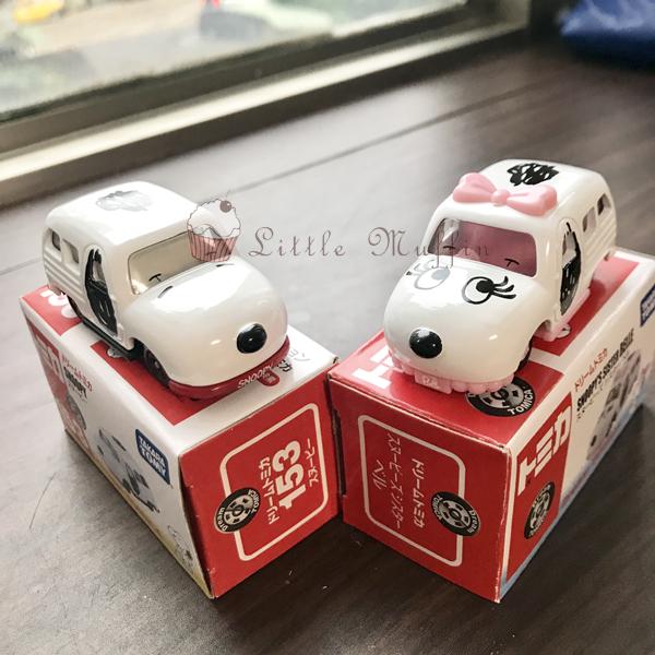 TOMICA 多美小汽車 Dreams系列 SNOOPY 史奴比/史奴比妹妹 貝兒BELLE 日本進口