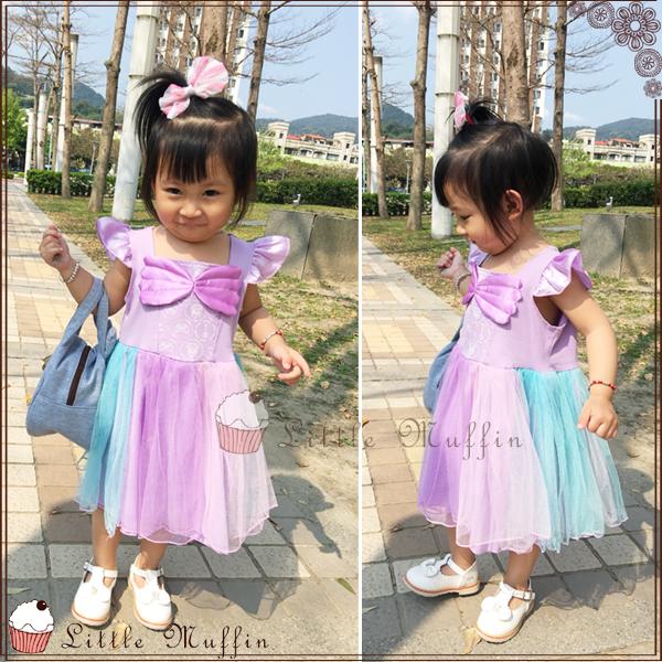 蓬蓬裙 美人魚造型多層紗裙蓬蓬洋裝 連身裙/小禮服/花童禮服