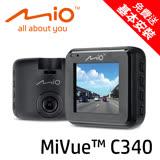 Mio MiVue™ C340 Sony Sensor大光圈行車記錄器★贈16G記憶卡★手機充電插頭★