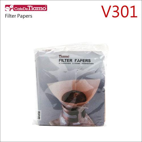 Tiamo V301無漂白咖啡濾紙40枚*3入 (HG2122-2)