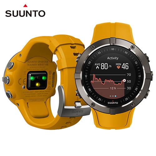SUUNTO Spartan Trainer Wrist HR Amber 全方位訓練與積極生活GPS運動腕錶【琥珀色】