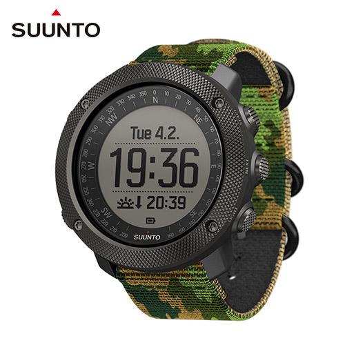 SUUNTO Traverse Alpha 專為狩獵、釣魚、征服叢林野外的GPS腕錶【迷彩綠】
