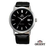 ORIENT 經典東方自動上鍊機械腕錶-黑x41mm FER27006B0