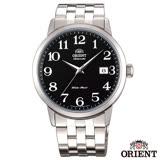 ORIENT 魅力型男自動上鍊機械腕錶-黑x41mm FER2700JB0