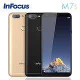 【黑色訂購區】InFocus M7s 5.7 吋全螢幕手機 (3G/32G) 指紋辨識 4000MA大容量電池智慧手機