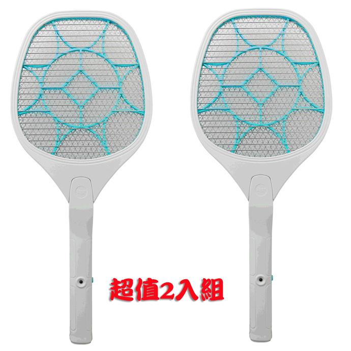 (超值2組入) 勳風電池式三層網蟑螂拍 HF-D728A