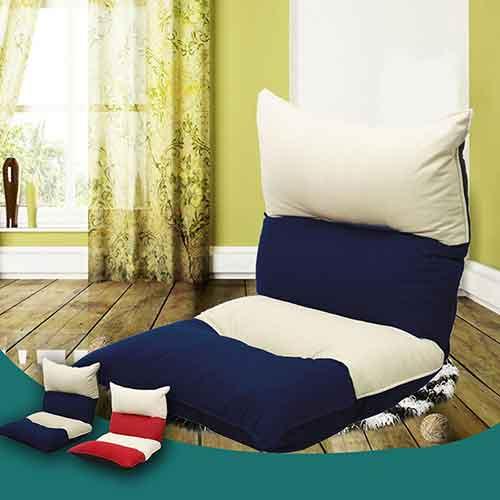 【KOTAS】楓卡拼色舒適五段和室椅(兩色)-藍