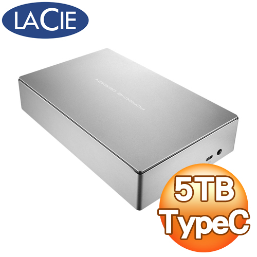 LaCie Porsche Design 5TB USB3.0 TypeC 3.5吋外接硬碟