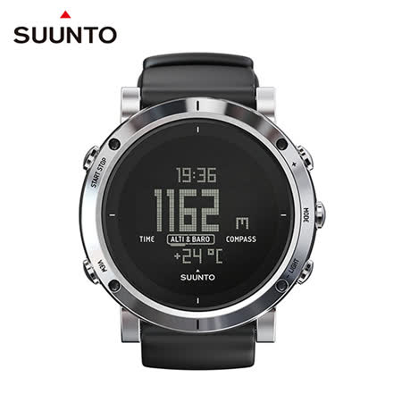 SUUNTO Core Brushed Steel時尚設計與戶外功能運動錶款