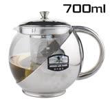 【17mall】雅緻保健咖啡壺/泡茶壺/花茶壺/沖茶器700cc