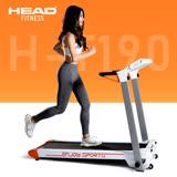 【HEAD海德】小橘2代 智能電動跑步機-家用款(免組裝/完全折疊)