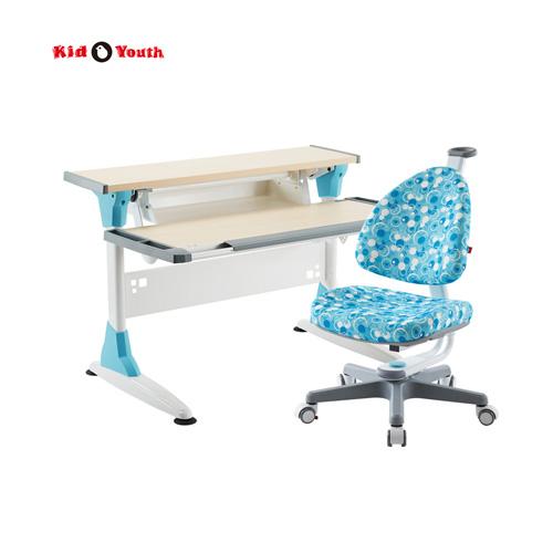 超大桌板 兒童成長桌椅組