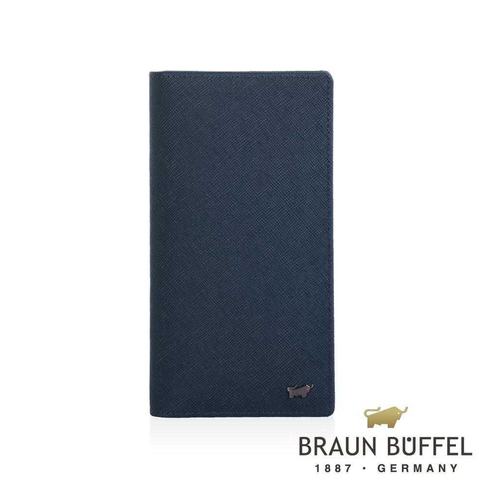【BRAUN BUFFEL】德國小金牛 洛非諾III系列零錢長夾/BF314-301-MAR