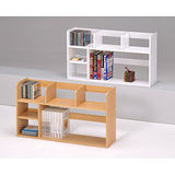 【空間生活】KD501書架 分類書架二層桌上架(多色可選)