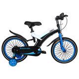 寶貝樂精選 16吋寶馬腳踏車打氣胎童車-藍