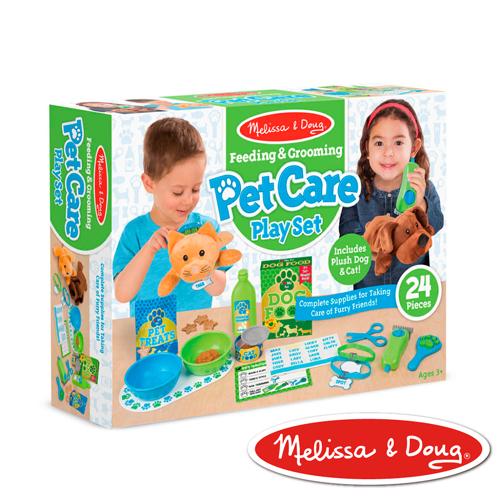 美國瑪莉莎 Melissa & Doug  角色扮演 - 寵物美容照顧遊戲組