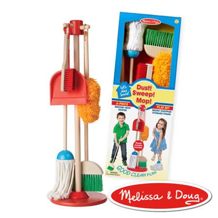 美國瑪莉莎-角色扮演 幼兒掃地清潔工具組