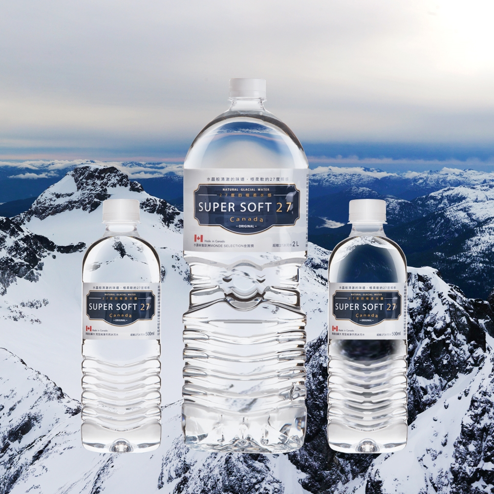 SuperSoft27 超軟27 冰河水 2000ml×6瓶