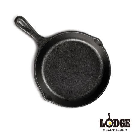 美國Lodge 鑄鐵平底煎鍋6.5吋
