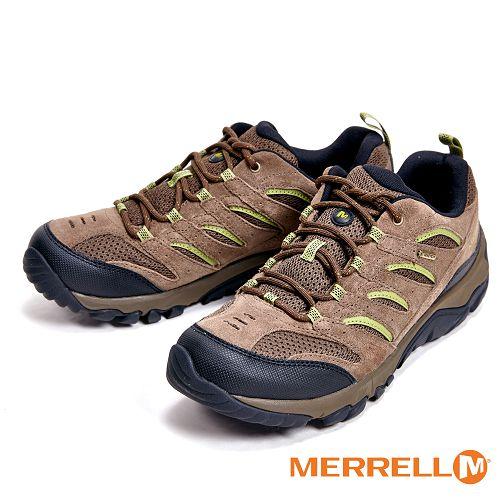 MERRELL WHITE PINE GORE-TEX防水專業功能健行登山 男鞋-仿舊棕(另有黑、深灰、棕) ML09569