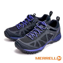 MERRELL SIREN SPORT Q2 GORE-TEX®登山健走多功能運動女鞋-紫黑色(另有橄欖綠、桃紫色) ML37794