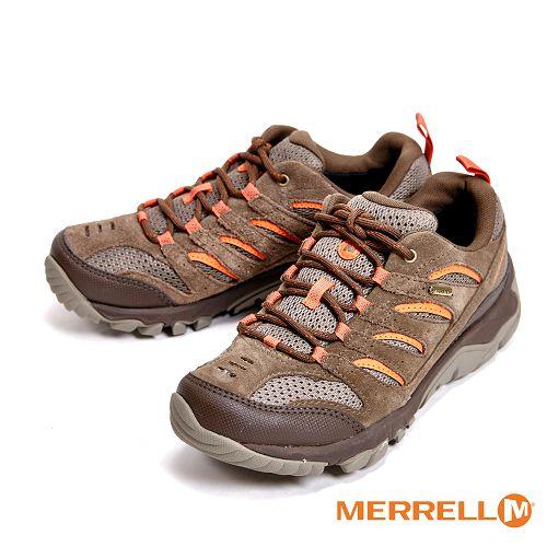 MERRELL WHITE PINE GORE-TEX防水專業功能健行登山 女鞋-仿舊棕色(另有灰紫色)  ML09568