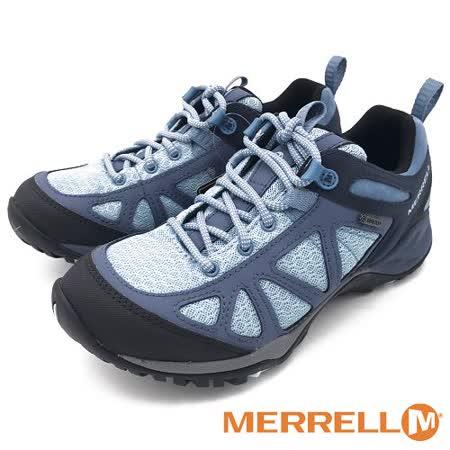 MERRELL Siren Sport Q2 Mid Gore-Tex 低筒登山鞋 女鞋-水藍色(另有夕陽紅)  #ML12434