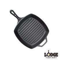 【美國Lodge】鑄鐵方型牛排煎鍋 10.5吋