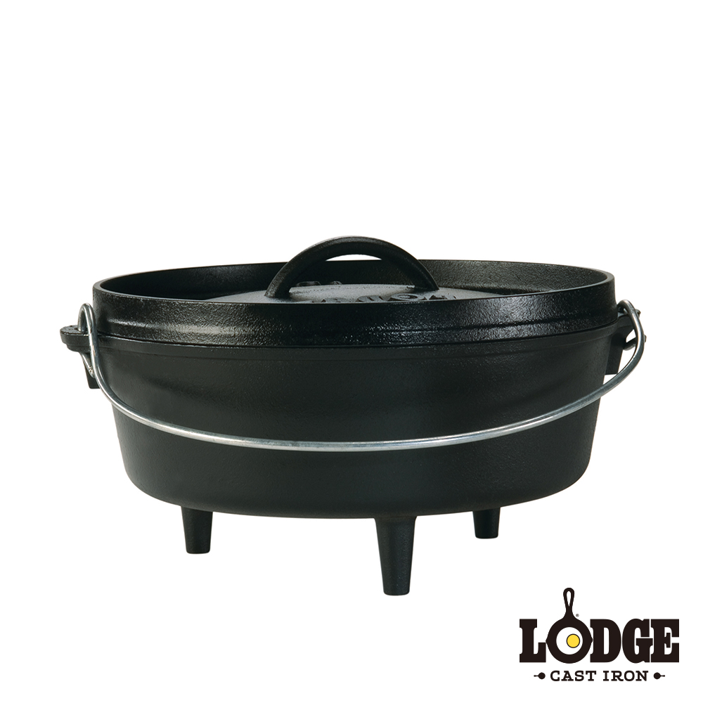 【美國Lodge】鑄鐵戶外荷蘭鍋 4Q