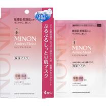 【日本MINON】胺基酸保濕面膜 22mL× 4入