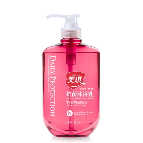 美琪抗菌沐浴乳-杏桃花與蜂蜜680ml