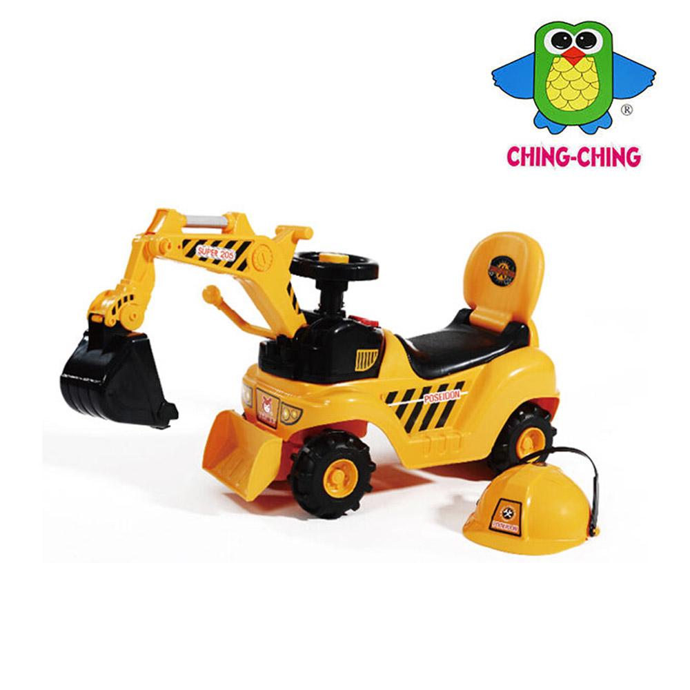 【親親】挖土機助步車(WJ007)